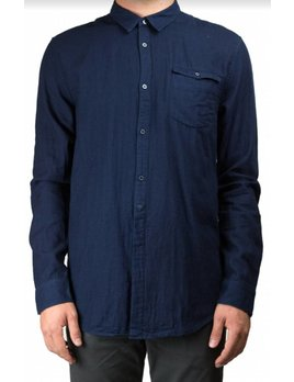 Scotch and Soda Double Weave Indigo Shirt