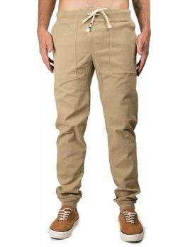 Sol Angeles Khaki Twill Jogger