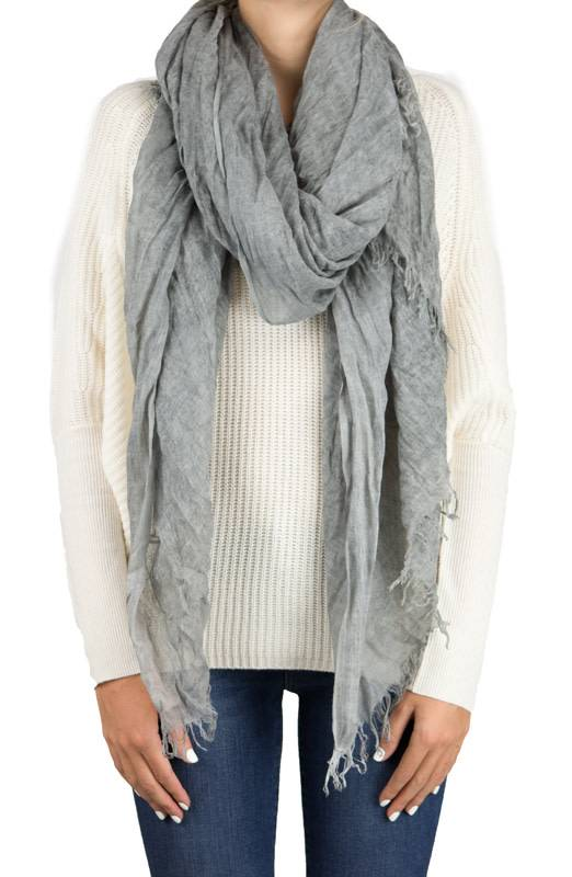 Repeat Mod-Cas Scarf Grey