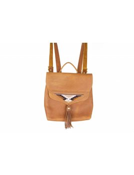 Crossbow Leather Brown Backpack