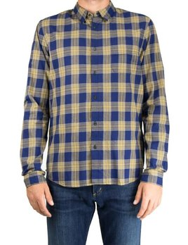 Scotch and Soda Burnt Yellow Check