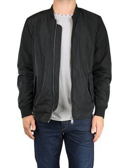 Scotch and Soda Racing Stripe Bomber
