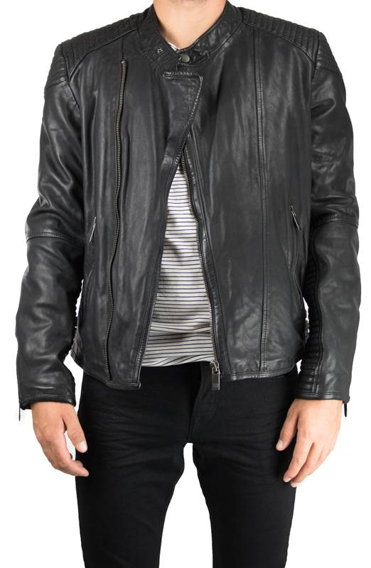 Scotch and Soda Fitted Biker Jacket