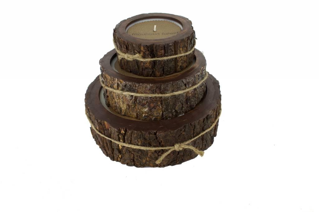 Himalayan Tree Bark Pot LG Mountain