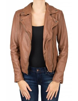 Muuba Burnt Sienna Leather Jacket