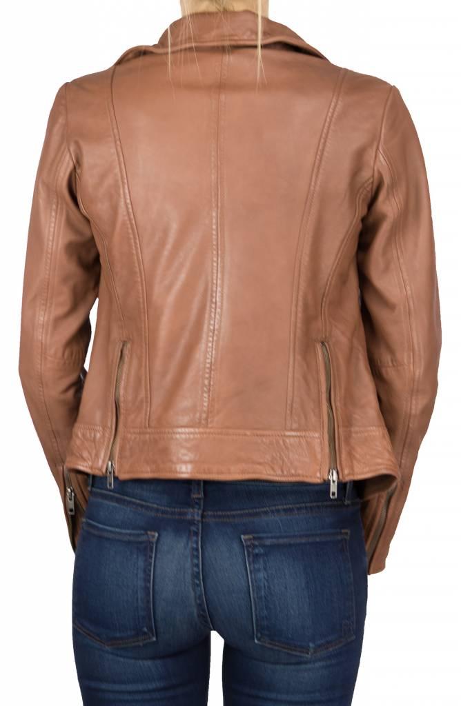 Muuba Burnt Sienna Leather Jacket