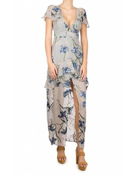 For love and Lemons Cleo Floral Maxi Dress