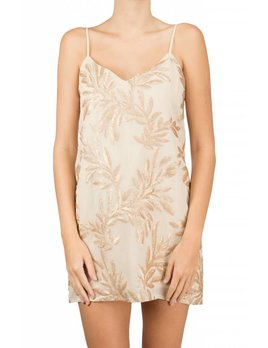 Show me your mumu Vivienned Slip Dress Golden