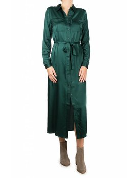 Lacademie Emerald Longsleeve Shirt Dress
