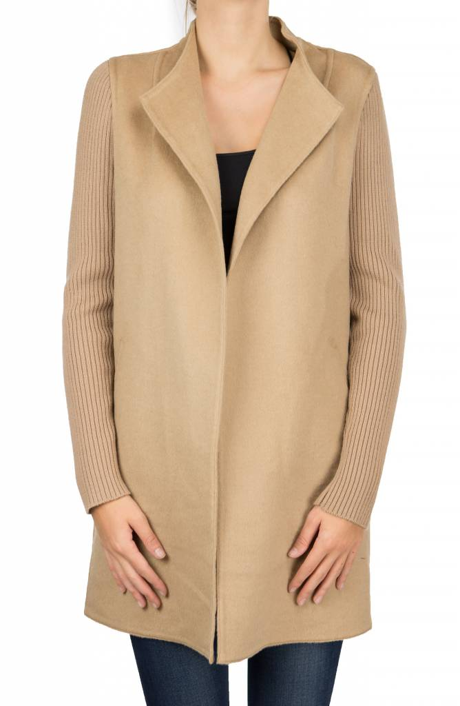 Repeat Camel Coat