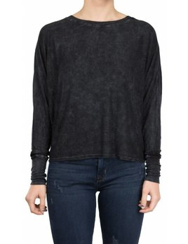 Joah Brown Vital Long Sleeve Graphite Rib