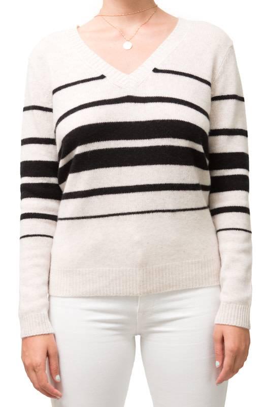 Repeat Striped Cashmere V
