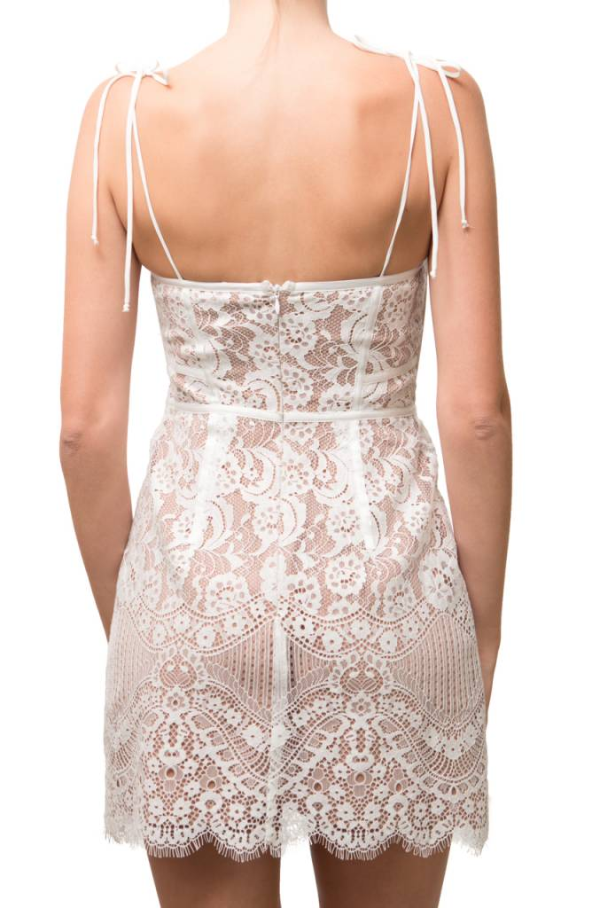 For love and Lemons Tati Lace Corset Dress