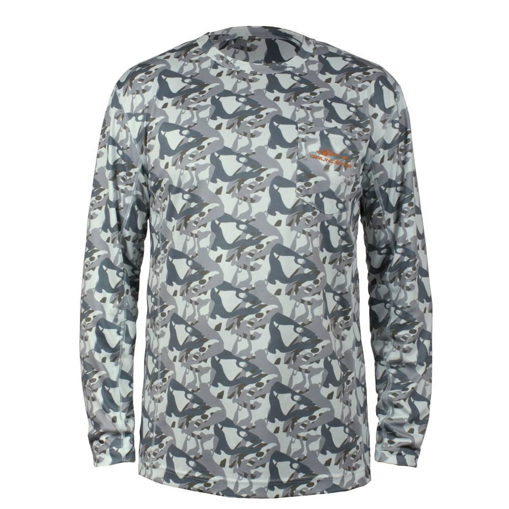 Grundéns Grundéns Fish Head Long Sleeve Shirt