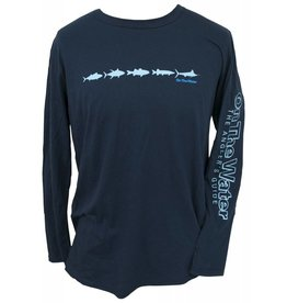Adult Long Sleeve Multifish Shirt