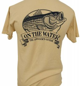 Old School Striper Angler's Guide T-Shirt