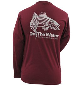 Adult Long Sleeve Leaping Striper Shirt
