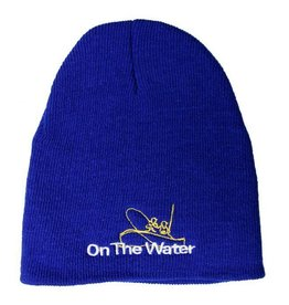 Adult Knit Embroidered Beanie