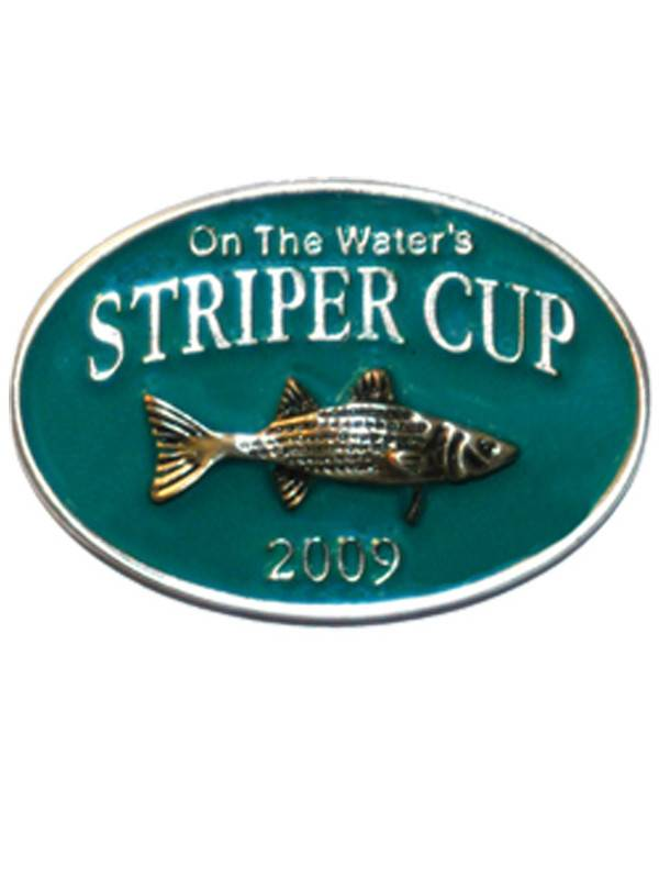 On The Water Striper Cup Pins