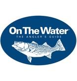 On The Water Striper Bumper Sticker