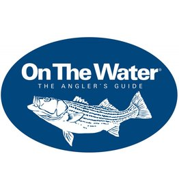On The Water Striper Bumper Sticker