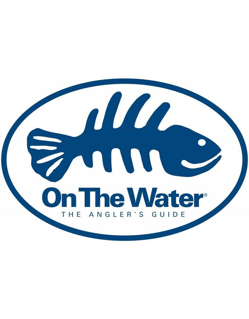 On The Water Fish Bones Bumper Sticker