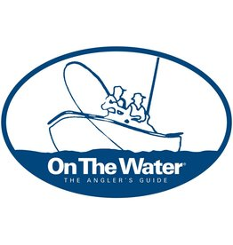 On The Water Boat Logo Bumper Sticker