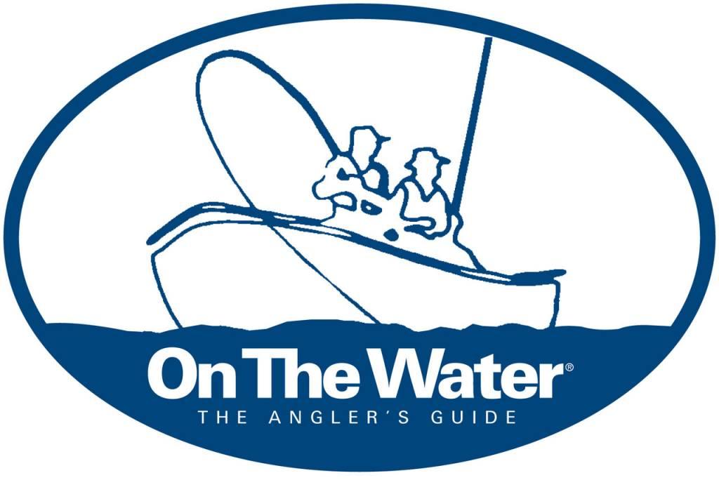 On The Water Boat Logo Bumper Sticker