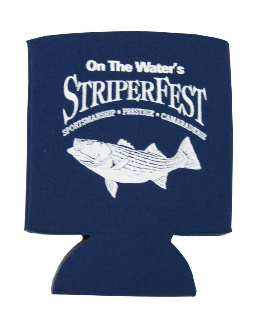 On The Water StriperFest Koozie