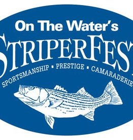 On The Water StriperFest Bumper Sticker