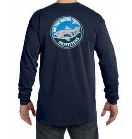 NEW - Adult Long Sleeve Swirling Striper Shirt