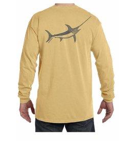 Adult Long Sleeve Swordfish Shirt