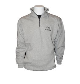 Embroidered 1/4 Zip Pullover
