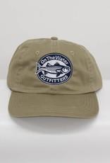 Oval Striper Newport Mid Fit Hat