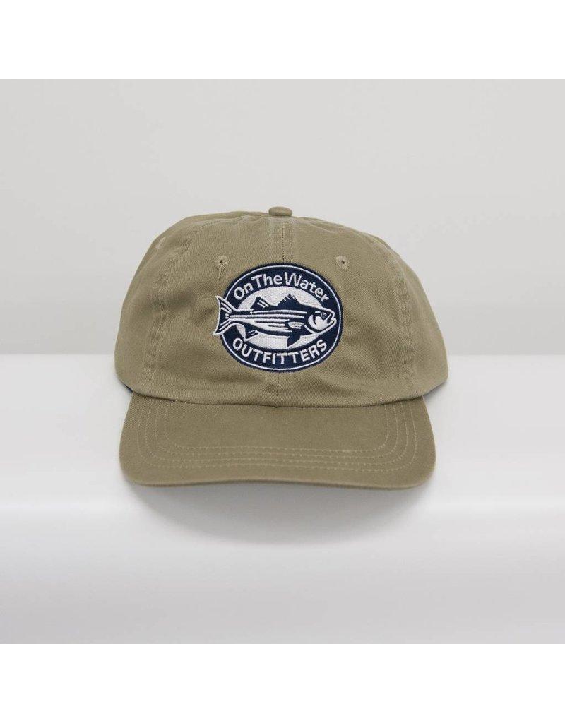 Oval Striper AHEAD Newport Mid Fit Hat