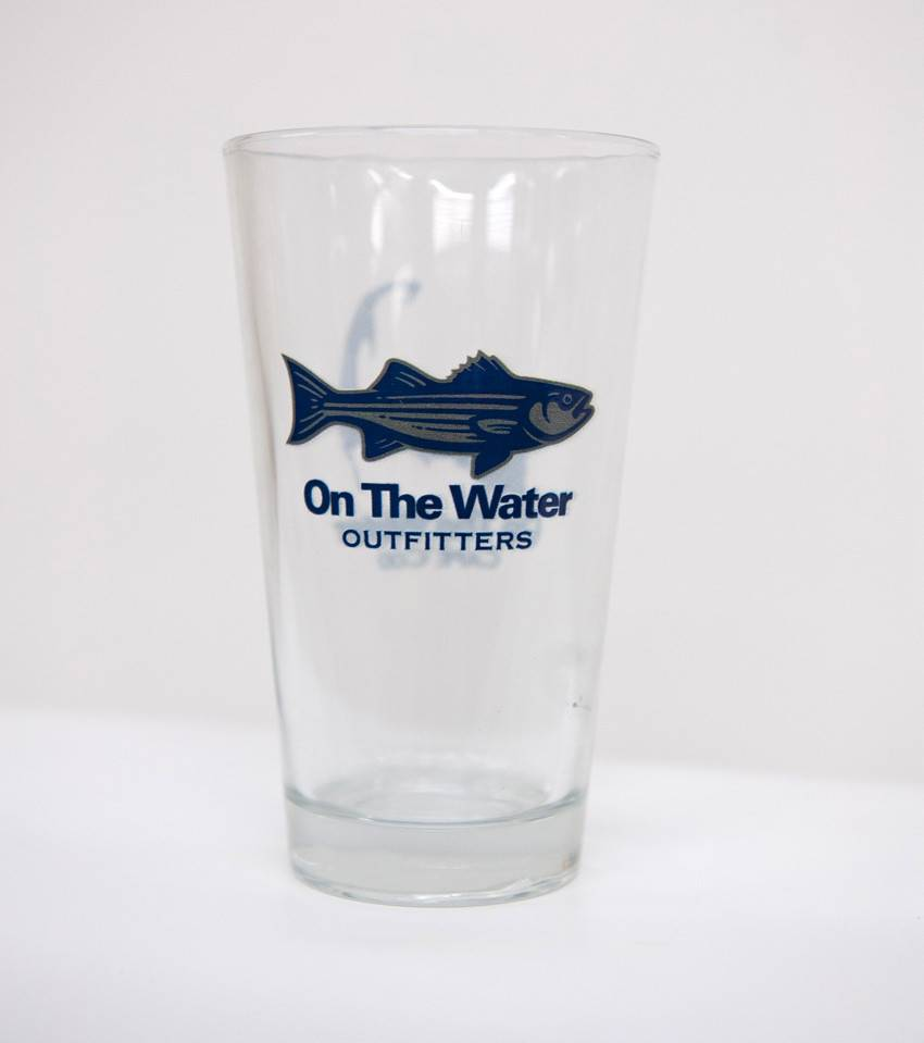 Cape Cod Striper Pint Glass