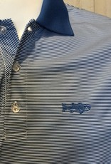 NEW - Embroidered Striped Polo