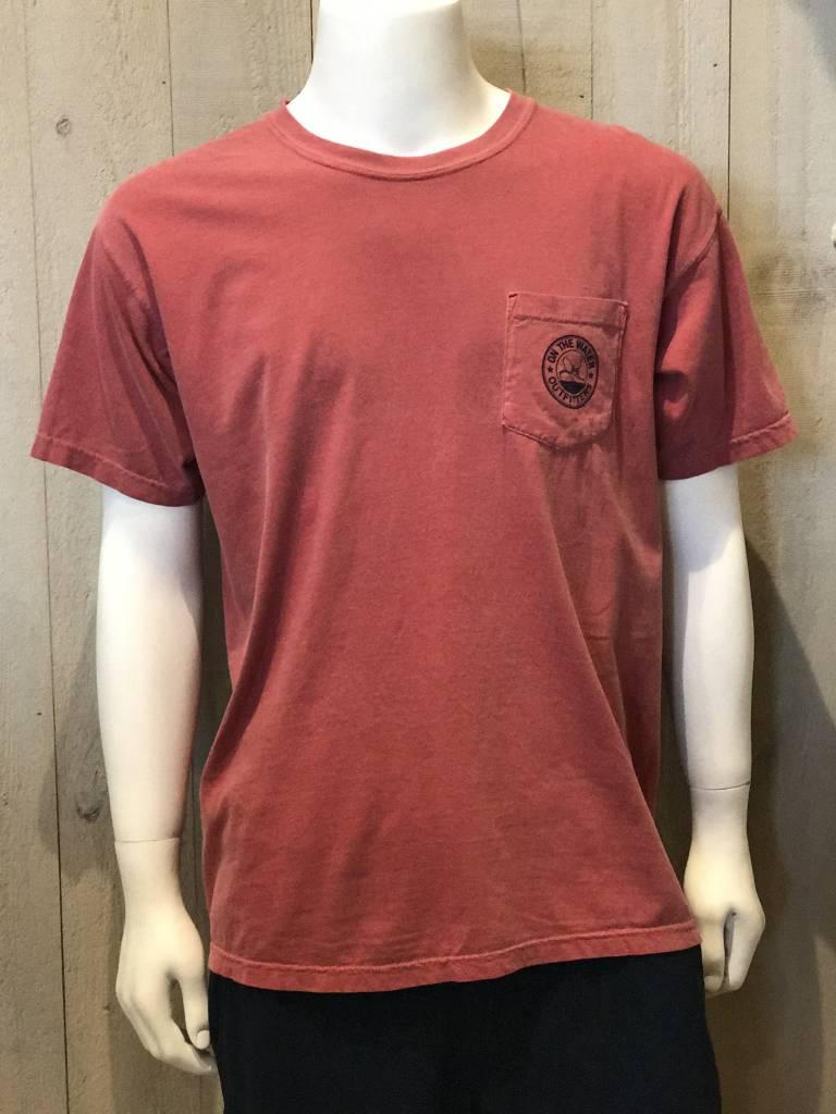 NEW - Striper Pen & Ink Pocket T-Shirt