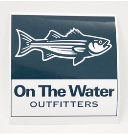 Outfitters Striper Sticker