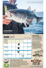 NEW - 2018 On The Water Fishing Calendar