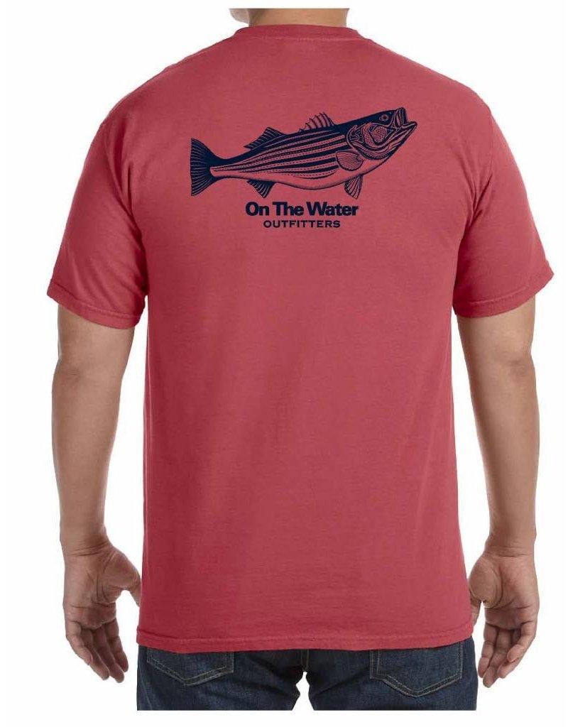 Striper Pen & Ink Pocket T-Shirt