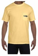 Retro Striper Pocket T-Shirt