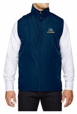 Embroidered Windbreaker Vest