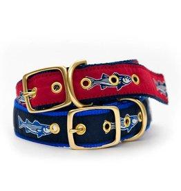 Striper Brass Dog Collar