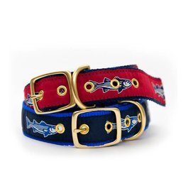 Striper Brass Dog Collar
