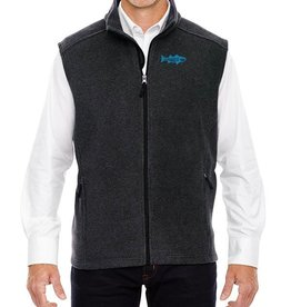 Embroidered Fleece Vest