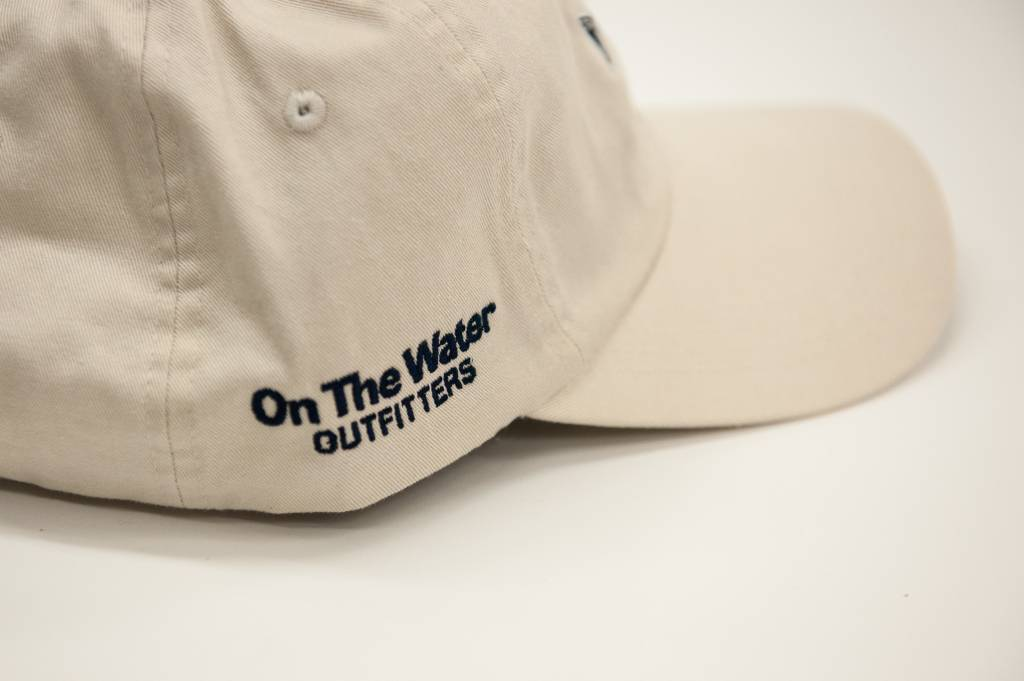 OTW Hat Washed Striper Vint Wht