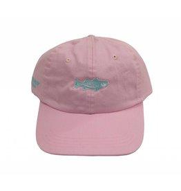 OTW Hat Washed Striper Oxford Pink