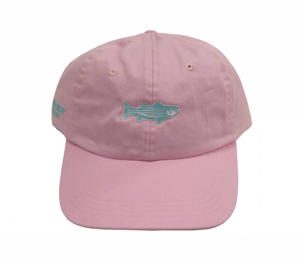 OTW Hat Washed Striper Oxford Pink