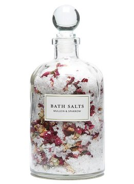 Mullein & Sparrow Rose Blossom Bath Salts